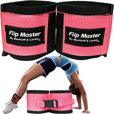 Flip Master Ankle Straps Tumbling Trainer | Great for Gymnastics & Cheerleading