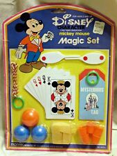 Vintage Mickey Mouse MAGIC SET Walt Disney Productions - Mint in Pack