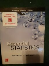 Essential Statistics 2nd Edition- Annotated Instructor's Edition