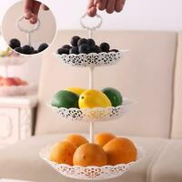1 * 3-Tier Cupcake Stand Cake Dessert Event Party Display Tower Round Plate Be