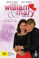 WILLIAM & MARY - SERIES 1 (MARTIN CLUNES) - 2 DVD SET - BRAND NEW!!! SEALED!!!