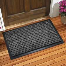 Non Slip Heavy Duty Floor Entrance PVC Rubber Doormat Machine Washable Clearance