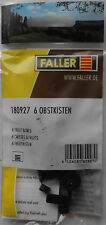 FALLER 180927 Fruit Boxes (6) 00/H0 Plastic Model Rail Accessories