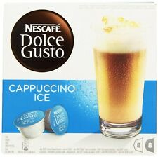 Nescafe Dolce Gusto Cappuccino Ice 38 Capsules (19 Milk 19 Coffee) Free Shipping