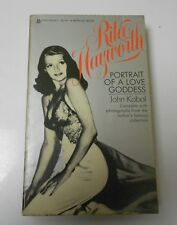 1977 RITA HAYWORTH Portrait of a Love Godess KOBAL VG+ Paperback