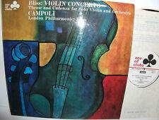 ACL 317 Bliss Violin Concerto Campoli LPO Bliss