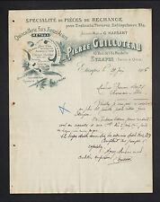 """ETAMPES (91) QUINCAILLERIE & METAUX """"G. HARSANT / Pierre GUILLOTEAU Succ"""" 1906"""
