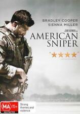 American Sniper NEW DVD (Region 4 Australia) Bradley Cooper Sienna Miller