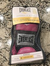 Everlast  Advanced Pro Style Training Boxing Gloves Pink 12 Oz.