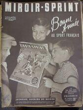 31/12/1951 MIROIR SPRINT francese giornale sportivo, il contenuto da includere: Rugby: FR