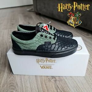 Harry Potter Shoes Vans Era X Slytherin Trainers UK 9 Rare collection