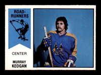 1974 O-Pee-Chee WHA #44 Murray Keogan  NM/NM+ X1555905
