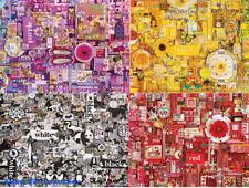 CobbleHill Rainbow Series Puzzle 1000 Pieces 8 Colors Toys Adult decompression