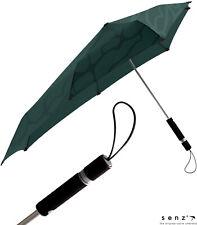 Regenschirm Damen Glockenschirm Auf-Automatik groß stabil metallic