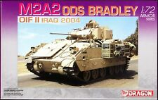Dragon 7247 M2A2 ODS BRADLEY OIF II IRAQ 2004 1/72 scale plastic model kit