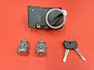 1994-2001 DODGE RAM 1500 2500 3500 IGNITION DOOR LOCK CYLINDER SET 2 KEYS NEW!