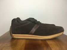 BEN SHERMAN 'Turkie' Vintage Casual Sneakers Shoes Brown Gum Sole 90s 8
