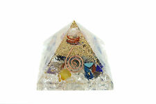 Orgonit Pyramide Chakrensteine  / Bergkristall  430