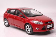Ford Focus 2012 car model in scale 1:18 Red