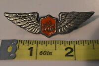 Vintage US Space Camp Wings Pin Astronaut