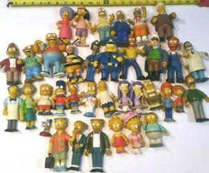 The Simpsons Playmates Action Figures lot of 35 & Memorabilia Toys Dolls