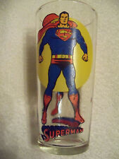 Vintage 1976 Superman Pepsi Glass, The Super Series Collectible 1976