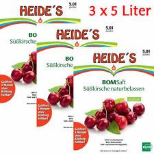 BOMSaft Süßkirsche naturbelassen 3 x 5L-BiB - 3er-Pack