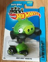 Hot Wheels Angry Birds Minion Pig - 2014 HW City - New In Box