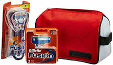 Gillette Limited edition Travel pack Fusion Razor + 2 cartridges + Gillette Bag