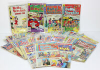 Vintage Lot of 40 Archie Jughead Betty and Veronica Comic Books 1958-1981
