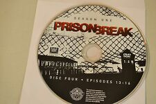 Prison Break First Season 1 Disc 4 Replacement DVD Disc Only 43-202