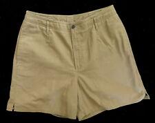 L.L. Bean Brown Flat Front Women's Casual Walking Shorts Size 8