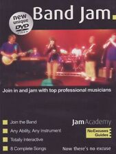 Band Jam. New Unique DVD. Join in a Jam With Top Professional Musicians
