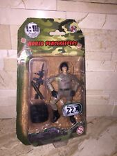 "WORLD PEACEKEEPERS MILITARY SOLDIER 3 3/4"" ACTION FIGURE 1:18 SCALE"