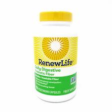 Renew Life Daily Digestive Prebiotic Fiber - 150 Vegetarian Capsules