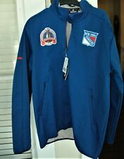 New York Rangers jacket! Adidas bonded rink Men's Large 1994 Stanley Cup NWT NHL