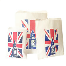 UNION JACK BIG BEN PAPER CANDY BAG  GIFT BAG  PARTY SWEETS CAKE WEDDING