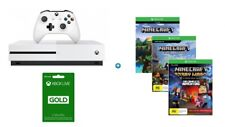 Xbox One S 500GB +Halo Wars 2/Minicraft Full game/ Xbox Live Gold Trial 3 months