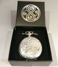 RARE 10TH DR FOB WATCH METAL PROP REPLICA WITH GALLIFREYAN GIFT BOX DOCTOR WHO
