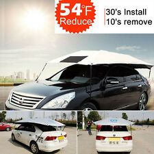 Car Sun Shade Cover Umbrella Cooling Roof Travel Universal UV Protect Outdoor