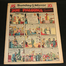 1950 Sunday Mirror Weekly Comic Section June 11tt (Vf) Tons of Superman