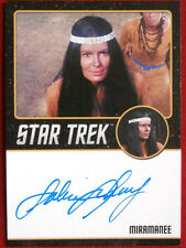 STAR TREK TOS 50th SABRINA SCHARF as Mirimanee, LIMITED EDITION Autograph Card