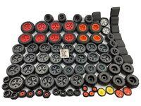 Meccano Erector Set Modern Parts - Massive Tire Collection Bulk Job Lot of 85