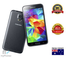 Brand New Samsung Galaxy S5 Charcol Black SM-G900i 4G LTE 16GB Unlocked Oz Stock