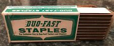 "Duo-Fast Staples 3/16"" No. 306-D, 5000/box Selling 24 boxes/package 120K staples"
