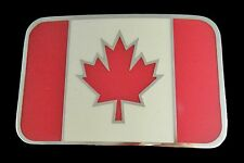 Boucle de Ceinture Canada Flag Maple Leaf Hockey Country Cool Belt Buckle