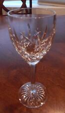"""WATERFORD CRYSTAL """"BALLYMORE"""" PATTERN WATER GOBLET GLASS (S) 7 1/2"""" EXCELLENT"""