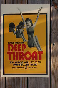 Deap Throat Lobby Card Gerard Damiano___