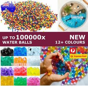 100,000pcs Water Beads Crystal Soil Balls Jelly Gel Beads For Vase Home Wedding