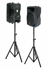 2x 600W DJ PA Aktiv Lautsprecher PAAR 30cm/12